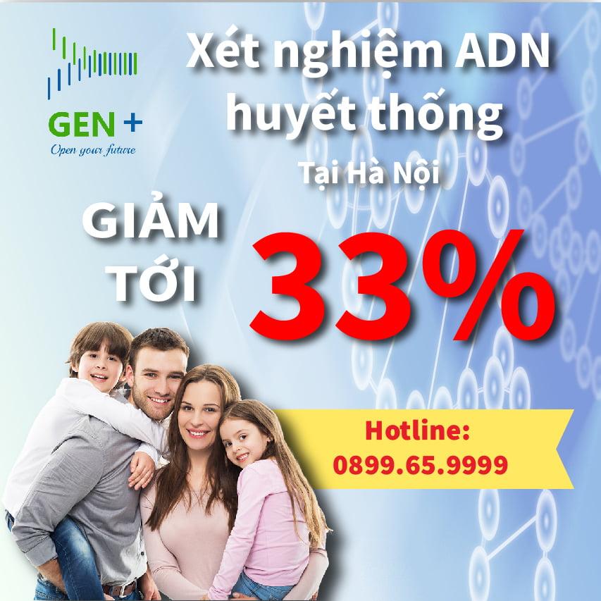 Giá xét nghiệm ADN tại Hà Nội 07/2020 cập nhật